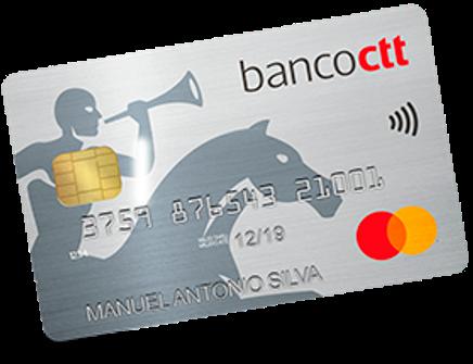cartão credito banco ctt